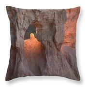 Sunrise Detail Bryce Canyon Throw Pillow