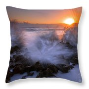 Sunrise Explosion Throw Pillow