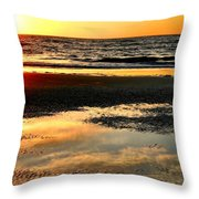 Sunrise In Jekyll Island Throw Pillow