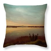 Sunrise In Orlando Throw Pillow