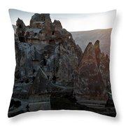 Sunrise Over Cappadocia Throw Pillow