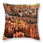 Sunrise Point At Sunrise Throw Pillow