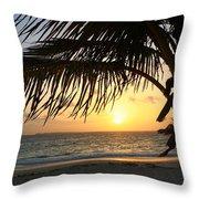 Sunrise Time Throw Pillow