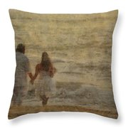 Sunrise Wedding Throw Pillow