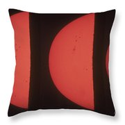 Suns Northern Hemisphere Throw Pillow