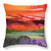 Sunset 04 Throw Pillow