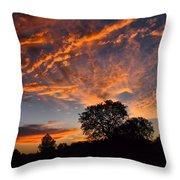 Sunset 07 26 12 Throw Pillow