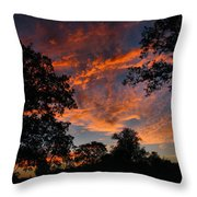 Sunset 07 26 12 Two Throw Pillow