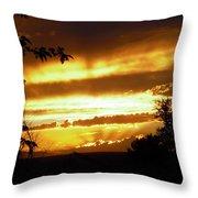 Sunset 24 Throw Pillow