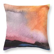 Sunset 36 Throw Pillow