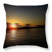 Sunset Art 1 Throw Pillow