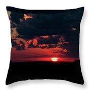Sunset At Chestnut Ridge 27718 Throw Pillow
