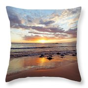 Sunset At Cove Park Throw Pillow