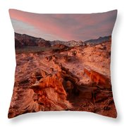Sunset At Liitle Finland Throw Pillow