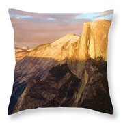Sunset At The Dome Throw Pillow