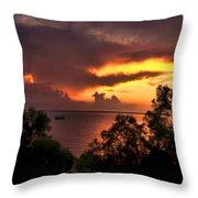 Sunset At The Top-end Throw Pillow