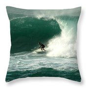 Sunset Beach Hawai'i Throw Pillow