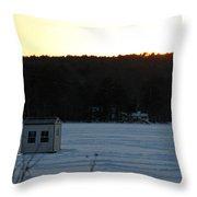 Sunset Bob Throw Pillow