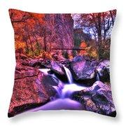 Sunset Canyon Throw Pillow