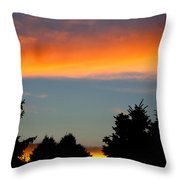 Sunset Charlestown In July Throw Pillow