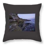 Sunset Cliffs Throw Pillow