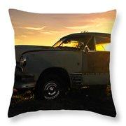 Sunset Coupe Throw Pillow