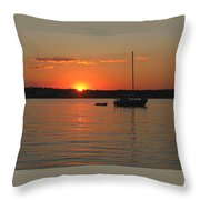 Sunset Cove Throw Pillow