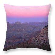 Sunset Hues At Grand Canyon Throw Pillow