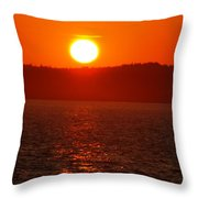 Sunset II Throw Pillow