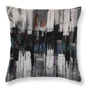 Sunset In A Cool City Throw Pillow