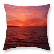 Sunset Iv Throw Pillow