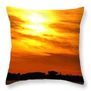 Sunset Ix Throw Pillow