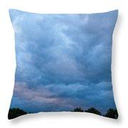 Sunset Painted Sky Throw Pillow
