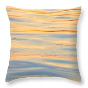 Sunset Reflected - Cooper River Charleston South Carolina Throw Pillow