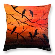 Sunset Secrets Throw Pillow