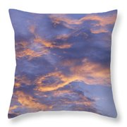 Sunset Sky Over Nipomo, California Throw Pillow