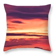 Sunset Skyscape Throw Pillow