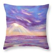 Sunset Spectacular Throw Pillow