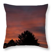Sunset Spirit In The Sky Throw Pillow
