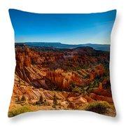 Sunset Sunrise Throw Pillow by Chad Dutson
