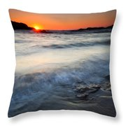 Sunset Uncovered Throw Pillow