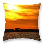 Sunset Viii Throw Pillow