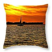 Sunset Xi Throw Pillow