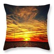 Sunset Xiii Throw Pillow