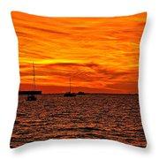 Sunset Xix Throw Pillow