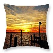 Sunset Xv Throw Pillow