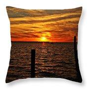 Sunset Xvii Throw Pillow