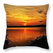 Sunset Xxi Throw Pillow