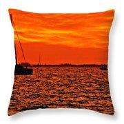 Sunset Xxii Throw Pillow