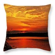 Sunset Xxiv Throw Pillow